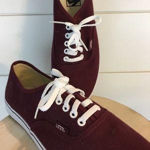 Vans: Lo Pro Windsor Wine Shoes